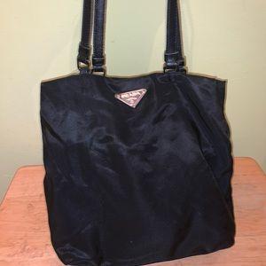 Prada tessuto nylon sac purse